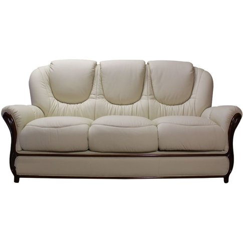 Juliet Genuine Italian Leather 3 Seater Sofa Settee ...