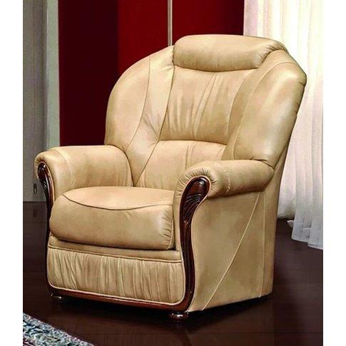 Oklahoma Armchair Italian Leather Offer