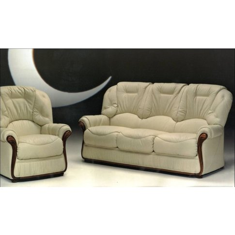 Indiana Genuine Italian Leather Sofa Suite Offer