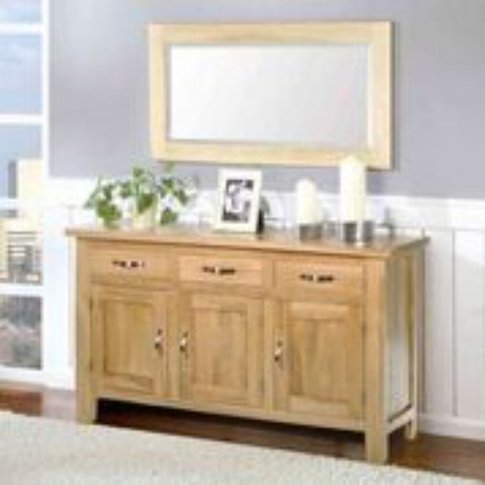 Oaken Extra Large 3 Door Sideboard