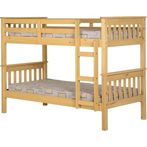 Neptune 3' Bunk Bed In Oak
