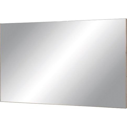 Elina Wall Mirror Rectangular In Sanremo Oak Frame