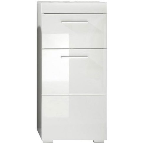 Amanda Bathroom Storage Cabinet In White With High G...