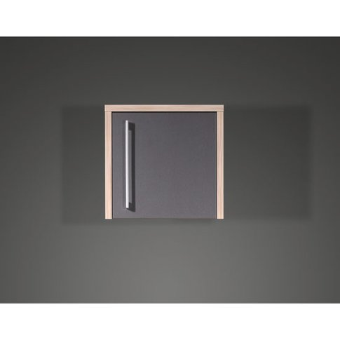 Duo Anthracite Office Cabinet