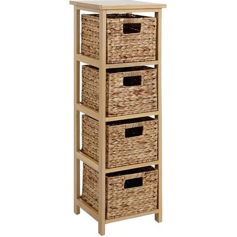 Maize Chest Of Drawers In Natural Wooden Frame With ...