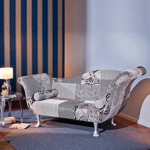 Syracuse 2 Seater Sofa In Upholstered Fabric With Wo...
