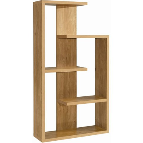 Alberta Shelving Unit In Oak