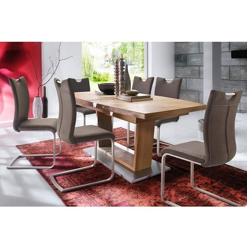 Cantania Dining Table Rectangular In Core Beech And ...