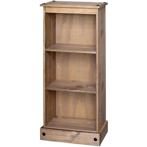 Corina Low Narrow Bookcase