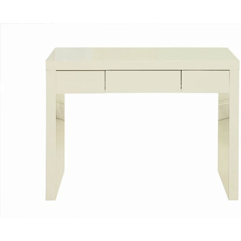 Curio Cream High Gloss Finish Dressing Table With 1 ...