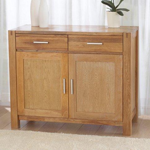 Milan Oak Small Sideboard