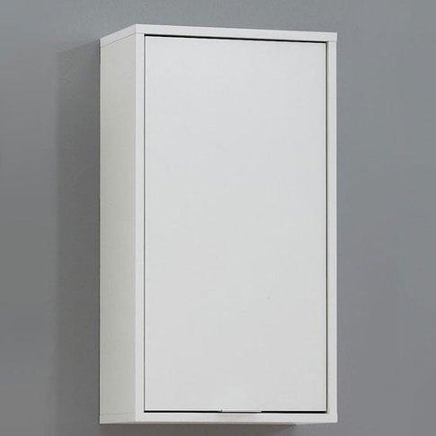 Zamora 5 Bathroom Wall Cabinet In White Finish