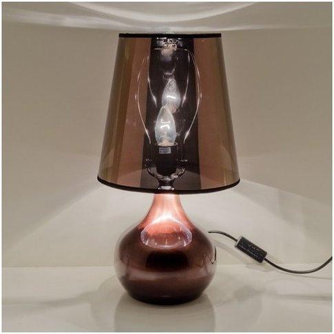 Altavilla Modern Table Lamp In Brown
