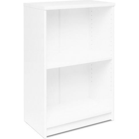 Aquarius Small Narrow Shelving Unit In White With 1 ...