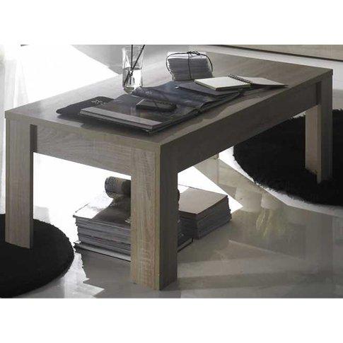 Aspen Wooden Coffee Table In Sonoma Oak