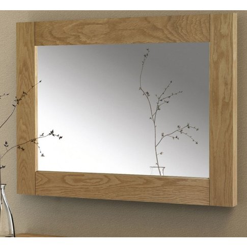 Astoria Wall Mirror With Solid Oak Frame