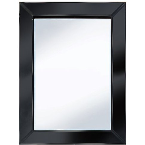 Brilliance Black 60x80 Rectangle Wall Mirror
