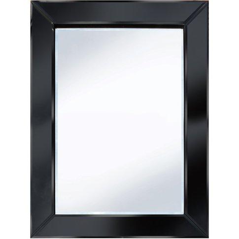 Brilliance Black 60x80 Rectangle Wall Mirror