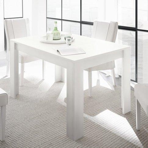Carney Contemporary Dining Table Rectangular In Matt...
