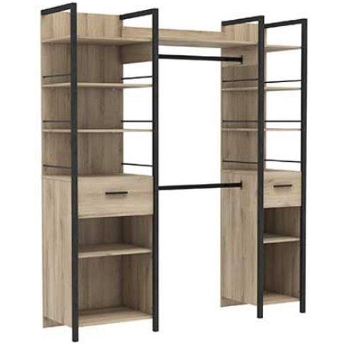 Celosia Wooden Extendable Storage Unit In Kronberg Oak