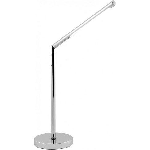 Garry LED Desk Lamp In Chrome