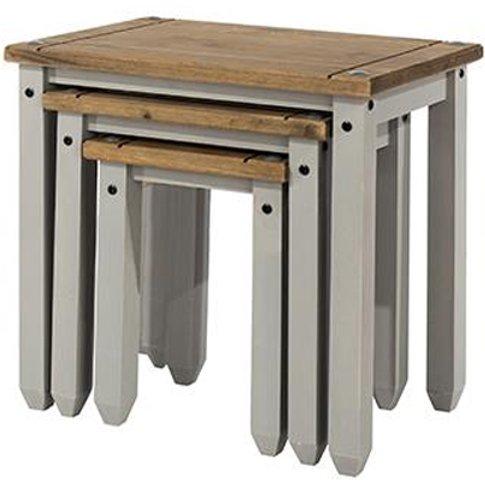 Corina Set Of 2 Nesting Tables In Grey
