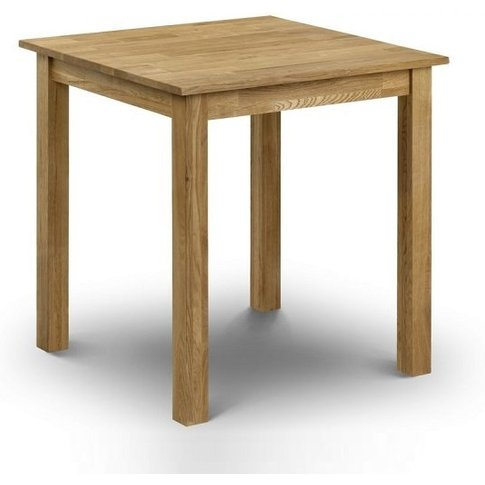 Coxmoor Square Wooden Dining Table In Oiled Oak Finish