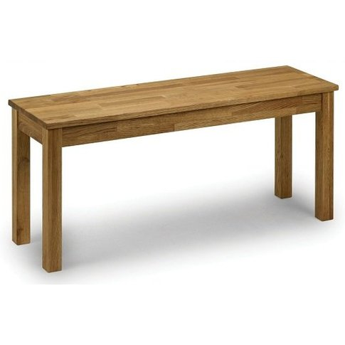Coxmoor Wooden Dining Bench In Oiled Oak Finish