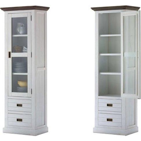Gomera Display Cabinet Acacia Solid Front