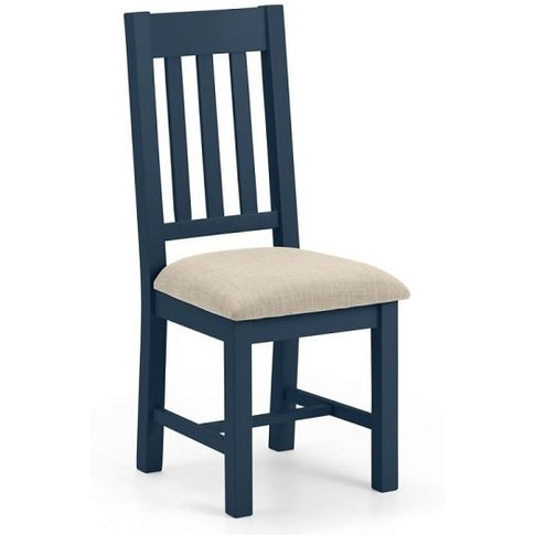 Grecian Wooden Dining Chair In Midnight Blue Lacquer
