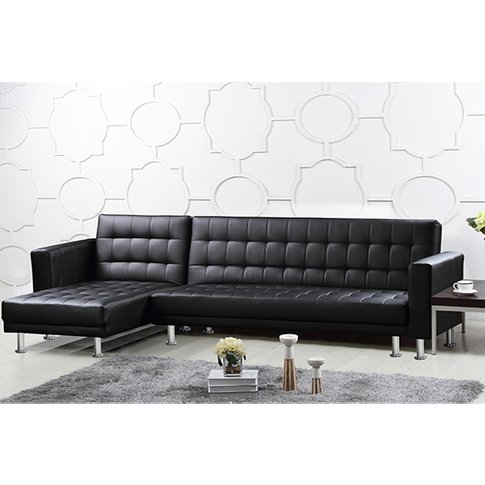 Hawthorn Pu And Pvc Corner Multi Functional Sofa Bed...