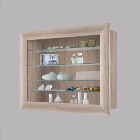 Heaven Wall Mounted Glass Display Cabinet In Canadia...