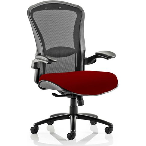 Houston Heavy Black Back Office Chair With Ginseng C...
