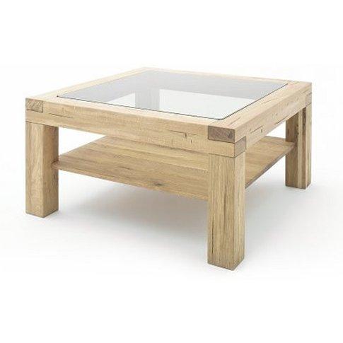 Imago Contemporary Glass Coffee Table Square In Wild...