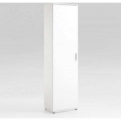 Lausanne Tall Multipurpose Storage Cupboard In White