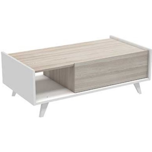 Mimosa Wooden Coffee Table In Shannon Oak And Pearl ...