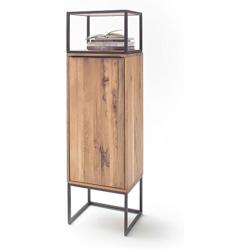 Norwich Wooden Storage Unit In Wild Oak With 1 Door