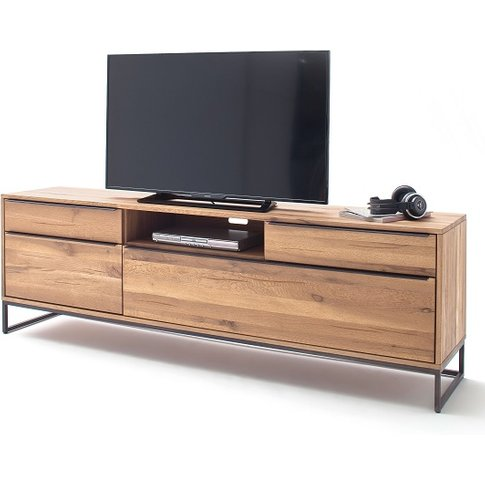 Norwich Wooden Tv Stand In Wild Oak With 4 Doors
