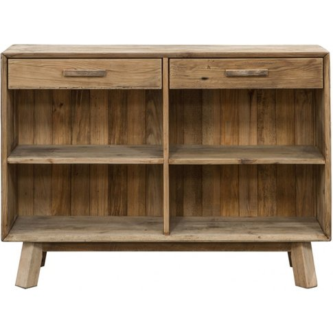 Orchard Wooden Sideboard In Oak With 2 Drawers