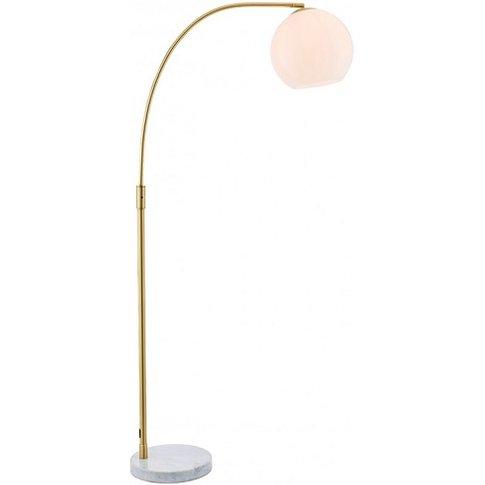 Otto Floor Lamp In Gold Finish