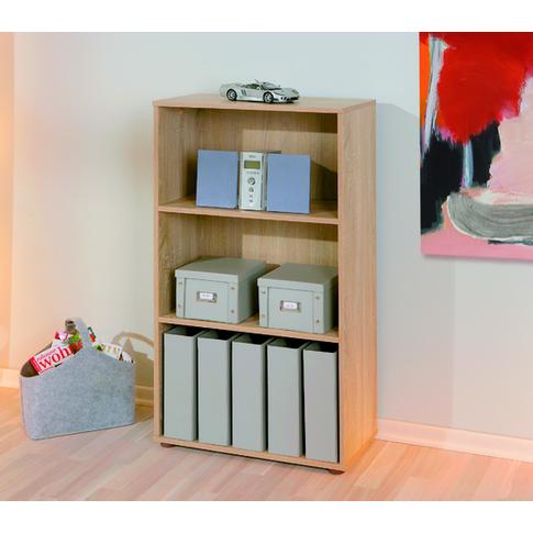 Parini 2 Shelving Unit Bookcase In Sanoma Oak