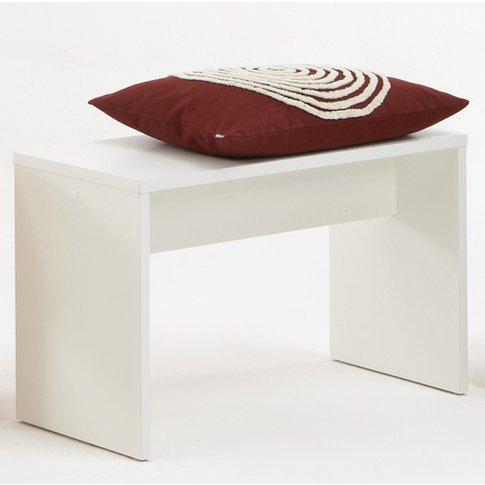 Pedro7 Modern White Bedroom Bench