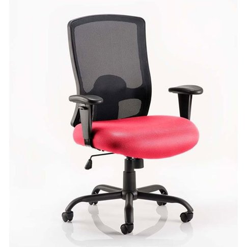 Portland Hd Black Back Office Chair With Bergamot Ch...