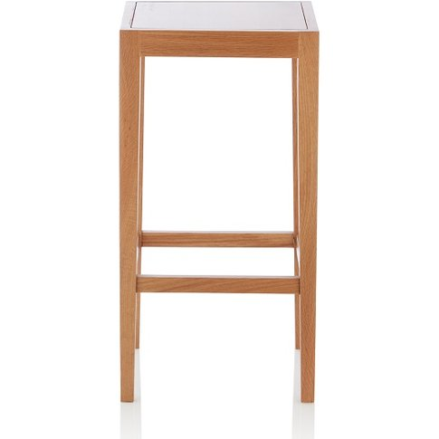 Proctor Wooden Bar Stool Square In Oak