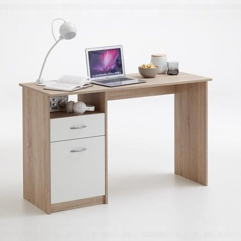 Rosemary Contemporary Computer Desk In Canadian Oak ...