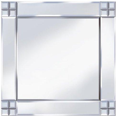 Multi-Square Design 60x60 Decorative Mirror