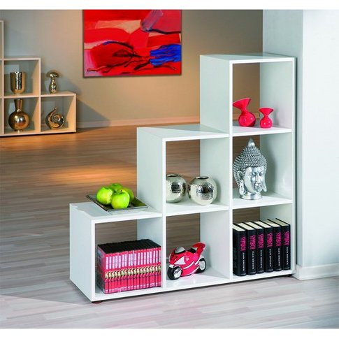 Cadore Shelving Unit In White