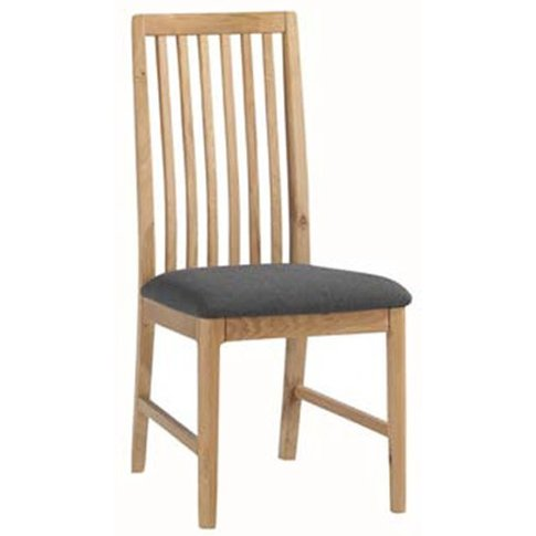 Trimble Wooden Dining Chair In Oak