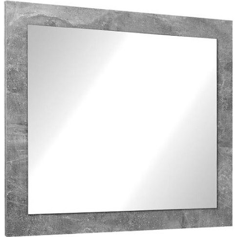 Varna Wall Mirror In Structure Concrete