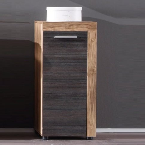 Wildon Bathroom Storage Cabinet In Walnut Touch Wood...